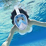 Hieha Snorkel Mask 2020 Upgraded Full Face