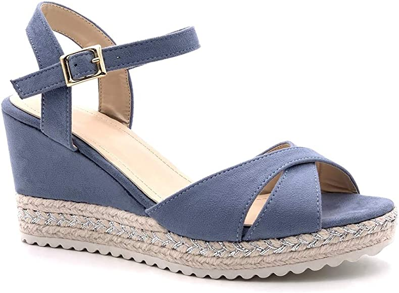 Angkorly Chaussure Mode Sandale Espadrille Confortable