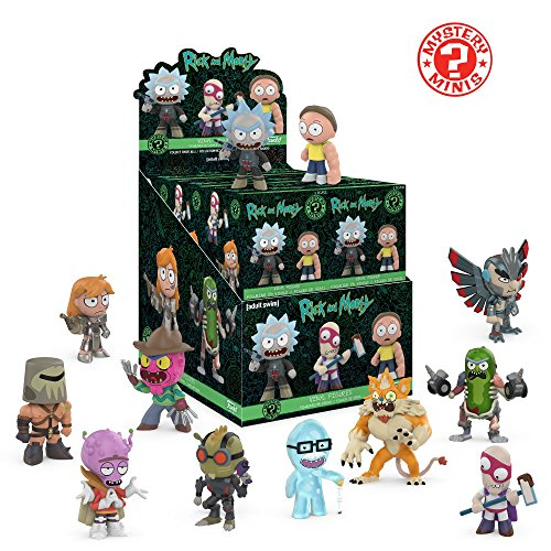 Funko Mystery Mini: Rick and Morty Series 2 Display Box of 12 Action Figures