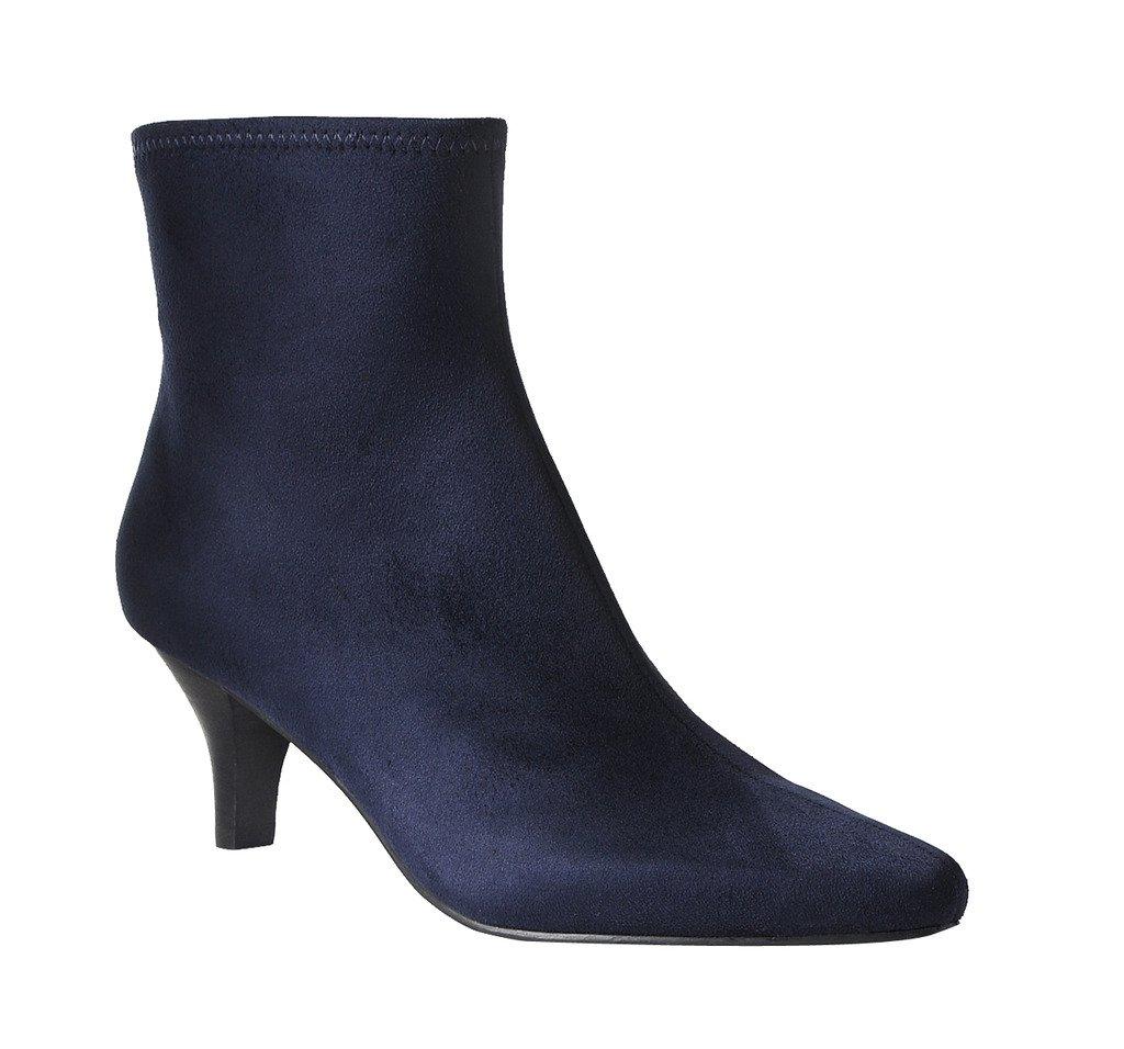 Impo Neil Dress Stretch Bootie B074X6CJK7 9.5 B(M) US|Midnight Blue Faux Suedy Stretch