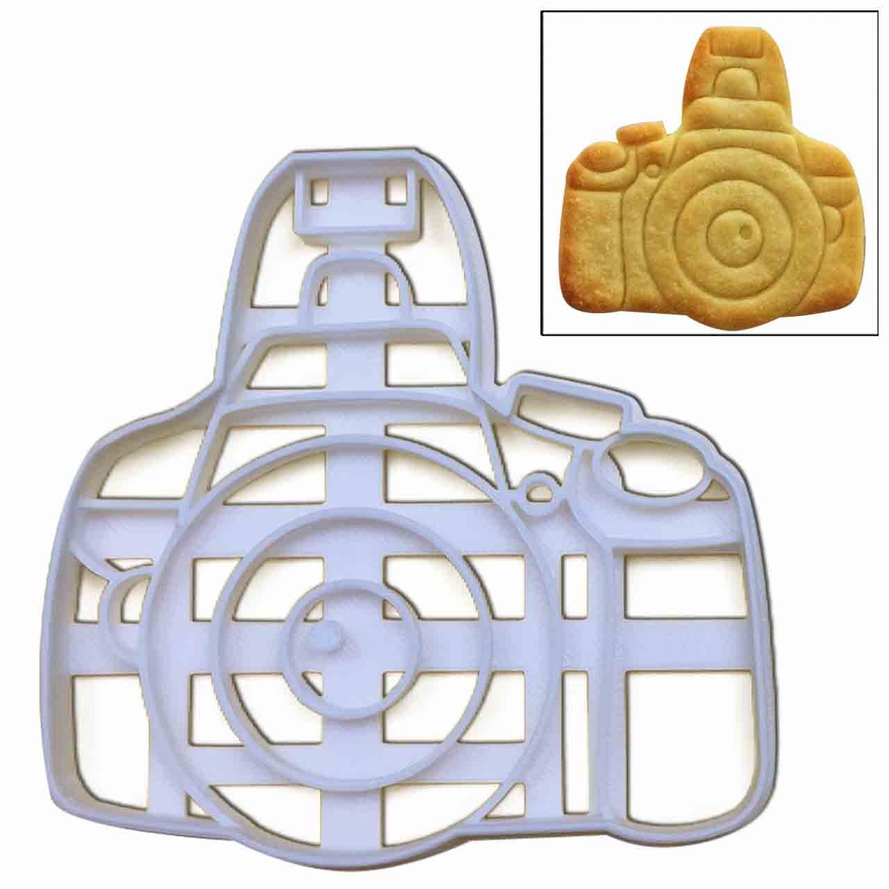 DSLR Camera cookie cutter, 1 pc, Ideal Gift for Photographers