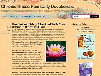 Chronic Illness Pain Daily Devotionals