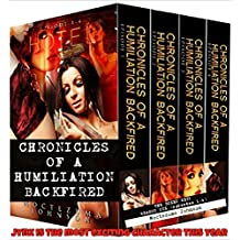 Chronicles of a Humiliation Backfired Series (Season One): The Taboo Psycho-Thriller Bad Boy Series