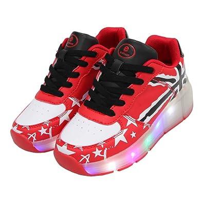 Roller Skate Sneakers >> Amazon Com Sdspeed Kids Roller Skates Shoes Girls Boys Roller