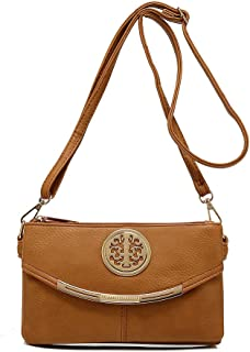 Craze London NEW Womens Small Clutch Bags with Long Adjustable Strap,Adjustable strap With Purse or small Shoulder bag