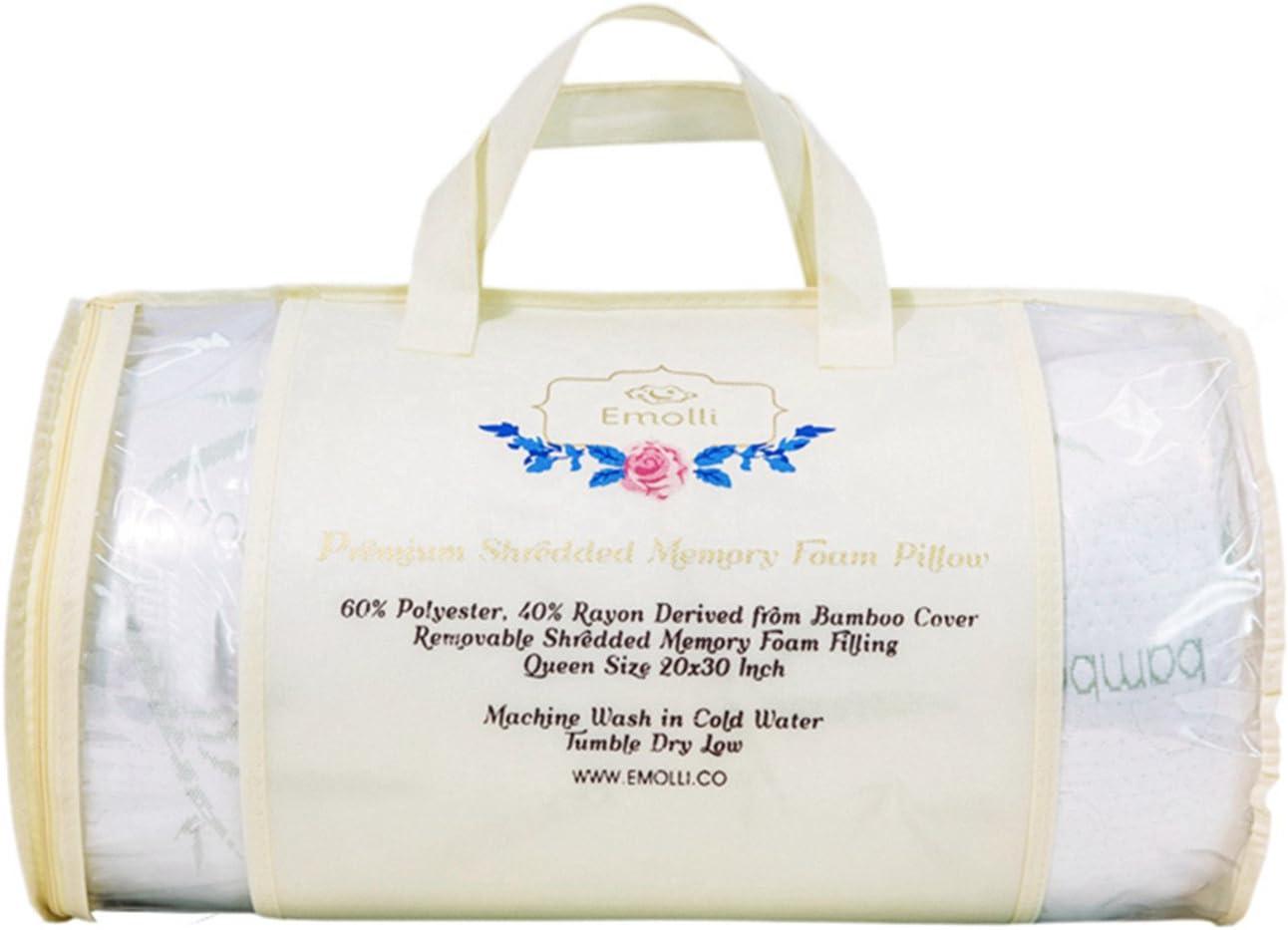 Emolli Shredded Memory Foam Pillow