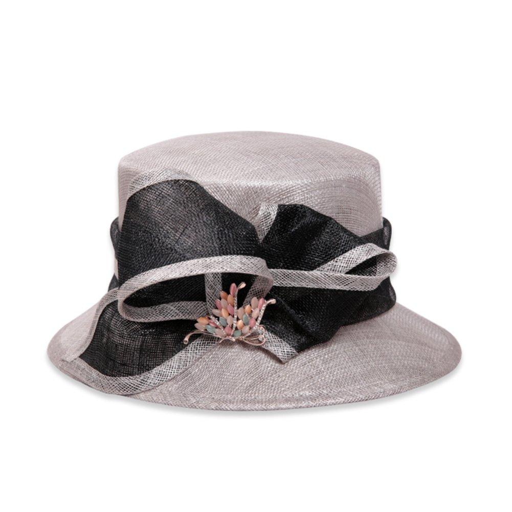 summer hat/Female British linen Cap/Visor cap / Sun fashion hat-A One Size