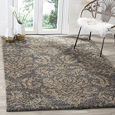 Safavieh Florida Shag Collection SG460-1311 Shag Area Runner