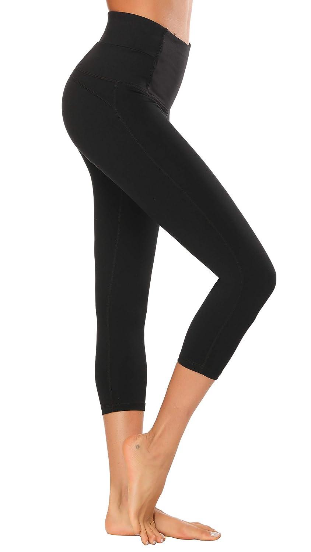 e2901f3c71910f X HERR Women Gym Leggings High Waist Yoga Sports Pants Compression Workout  Running Tights  Amazon.co.uk  Clothing