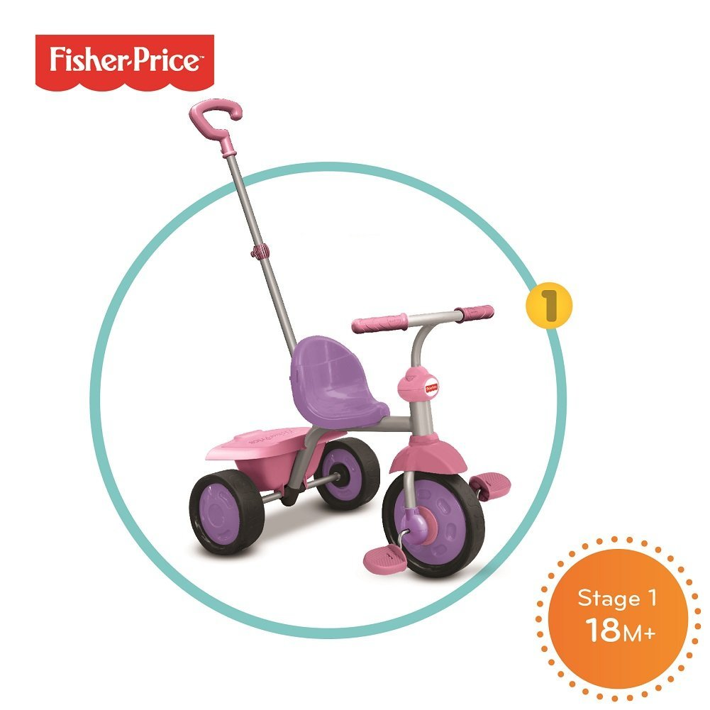 Fisher-Price 3350233 Baby Tricycle Pink
