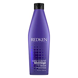 Redken Color Extend Blondage Color Depositing Purple Shampoo | For Blonde Hair | Neutralizes Brassy Tones In Blonde Hair | With Citric Acid