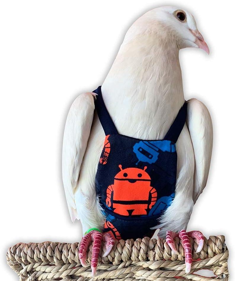 Bev's Bird Boutique Genuine - Robot Fresno Mall Open-Back Style Flyper