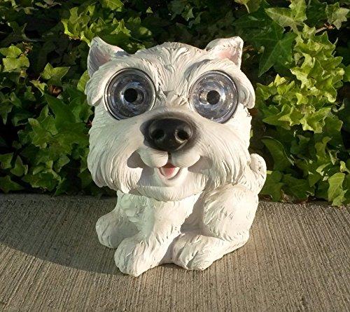 og/Puppy Figurine/Statue Light: Labrador, Dalmatian, Terrier Trimiurti Online-Store (White Terrier) ()