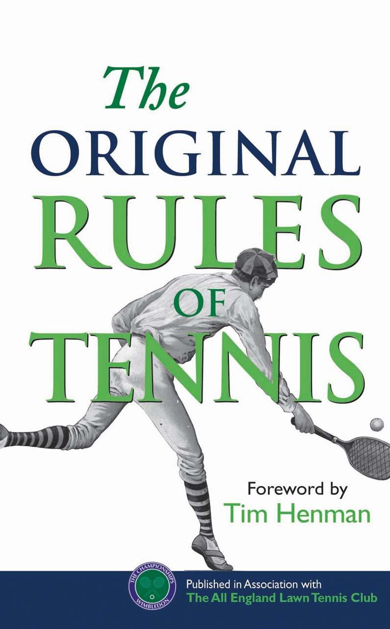 Read Online The Original Rules of Tennis PDF