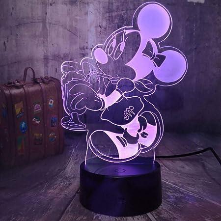 HHYXIN Luz De La Noche Regalo para Niñas Cute 3D Led Night ...