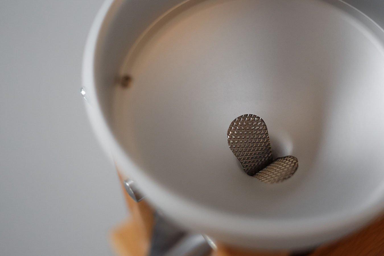 Eschenfelder Grain Flaker with Anodized Aluminum Funnel by Happy Mills