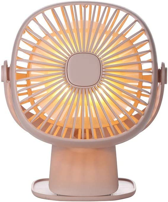Outdoor Quiet Gym Car Qqww Portable USB Mini Fan,Rechargeable Battery Operated with Long Battery Life Travel Adjustable Speeds Mini Portable Desktop Best for Baby Stroller Office Camping