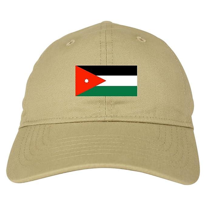Amazon.com  Jordan Flag Country Chest Dad Hat Baseball Cap Beige ... c1cad61dcbf