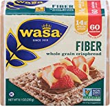 Wasa Fiber Crispbread, 8.1 Ounce (Pack of 12)