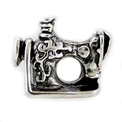 Amazon EvesEroseTM Silver SEWING MACHINE Bead Sterling Classy Pandora Sewing Machine Charm