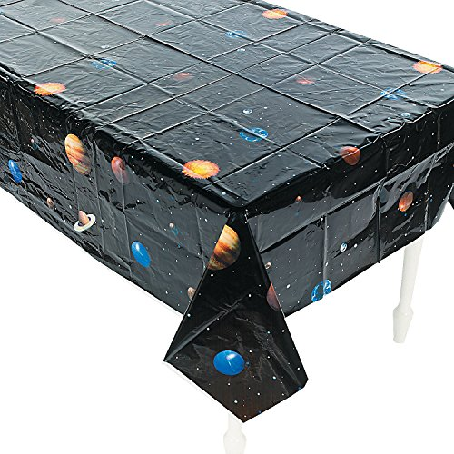 (Space Tablecloths, Set of 2 Outer Space Party Table Covers)