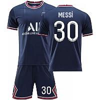 Weqenqing 21-22 New Paris Home Jersey, Nummer 30 Jersey, Parisian Jersey, Heren Voetbal T-shirt, Voetbal Uniform…