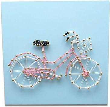 Diy Hecho A Mano Cadena De Bicicleta De Seda Pintura Uñas ...