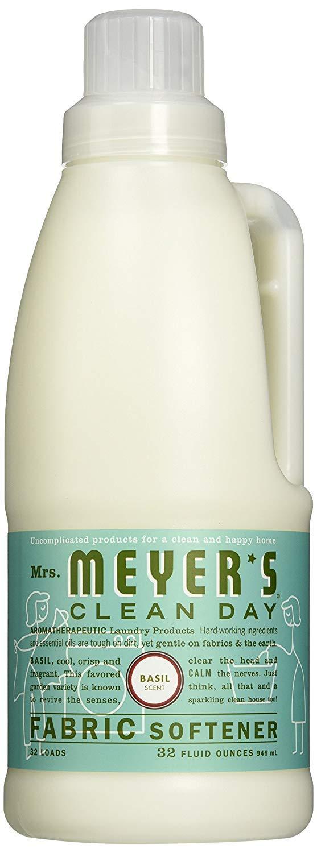 Mrs Meyers Fabric Softener, Scent (Basil, Pack - 4)
