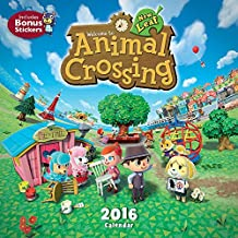 Animal Crossing 2016 Wall Calendar