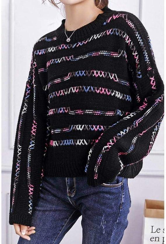 Suéteres Y Jerséis para Mujer Otoño e Invierno Suéter de Estilo ...