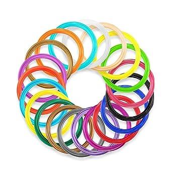 20 bolsas de plástico ABS de filamento para impresora 3D, de ...