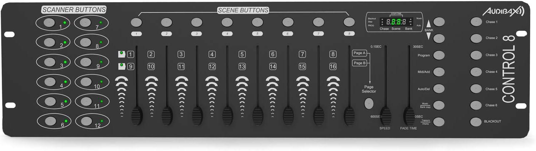 Audibax Control 8 Controlador Mesa DMX: Amazon.es: Electrónica
