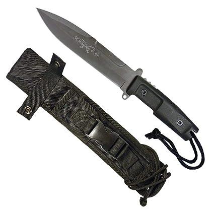 Amazon.com: Gurkha - Cuchillo de hoja fija táctico grande ...