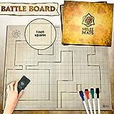 dry erase markers starter kit - The Original Battle Grid Game Board - 27