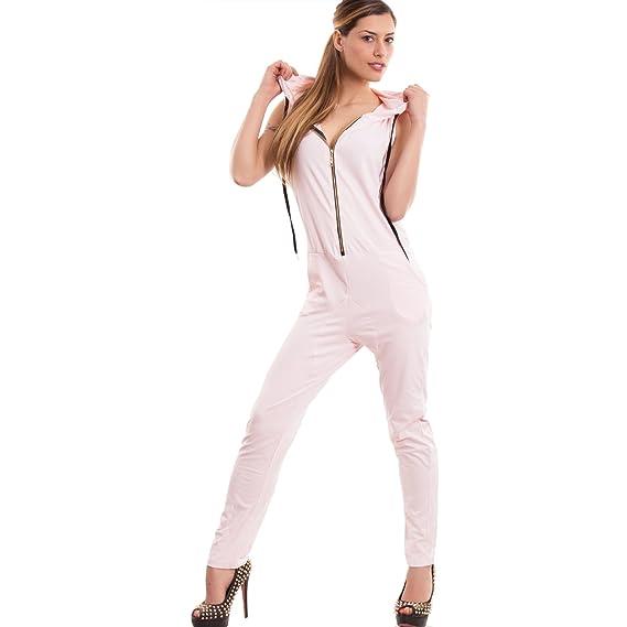 vente chaude en ligne 98a6d 884bc Toocool - Salopette - Femme - Rose - Taille Unique: Amazon ...
