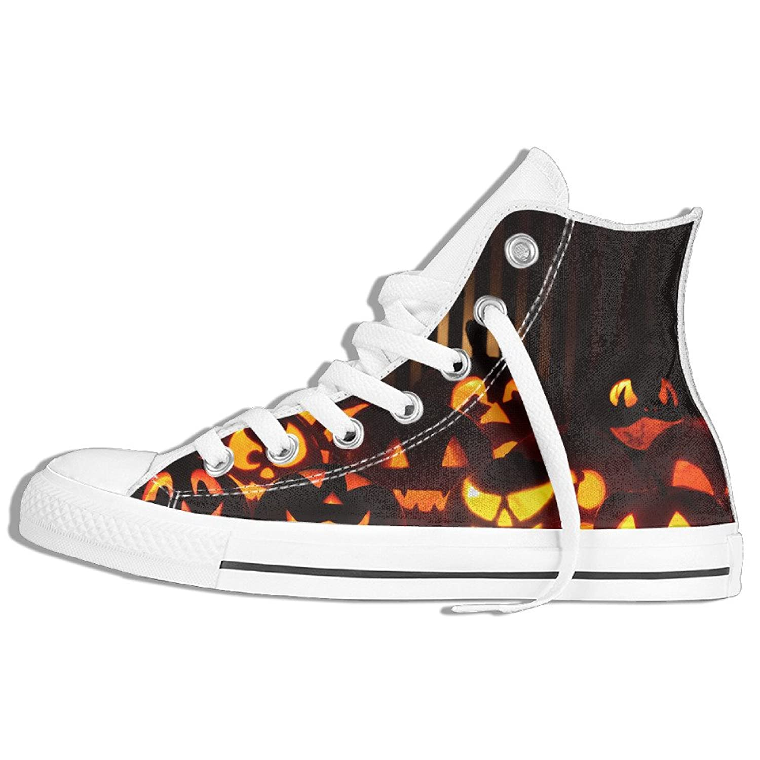Halloween 3 Canvas Shoes For Men Casual Shoes