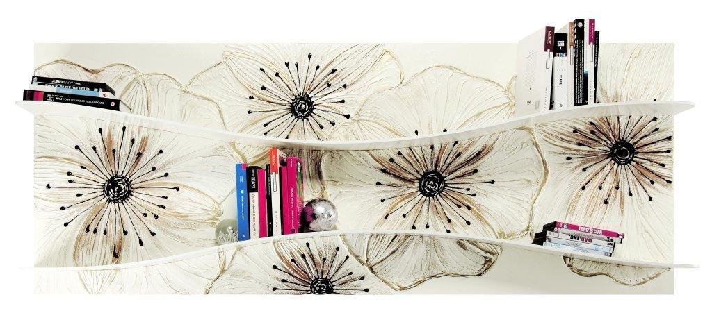 Rahmen Petunia Farben aus Glas P3888PINTDECOR