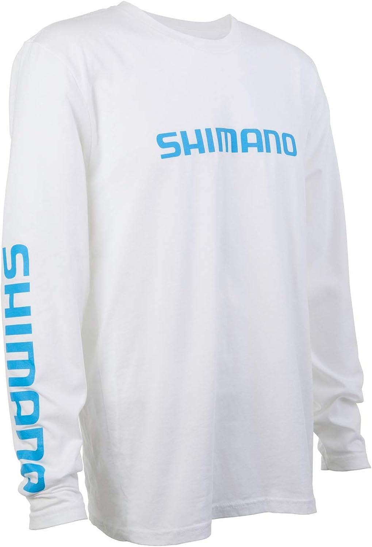 SHIMANO Long Sleeve Cotton Tee Fishing Gear