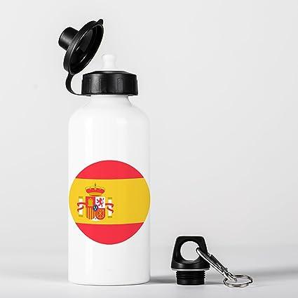 Spain Flag Bandera Española España Botella de Agua Aluminio Bottle: Amazon.es: Bricolaje y herramientas