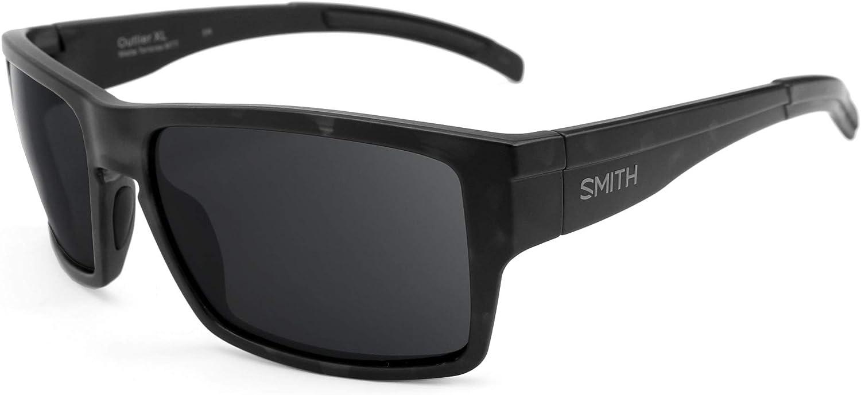 Revant Verres de Rechange pour Smith Outlier XL - Compatibles avec les Lunettes de Soleil Smith Outlier XL Or Mirrorshield - Non Polarisés