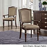 iNSPIRE Q LaSalle Espresso Nail ad Accent Transitional Dining Side Chairs (Set of 2) by Classic Brown