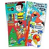 Best Sesame Street Friends Sticker Books - Sesame Street Christmas Coloring Book Super Set Review