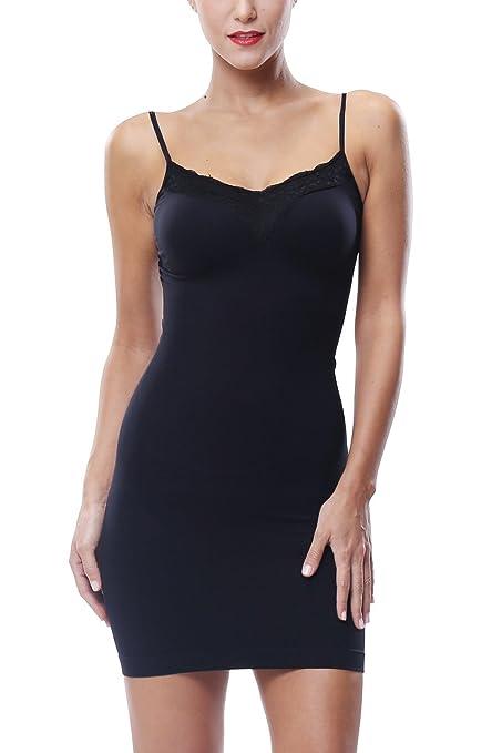2db07de7212 Khaya Shapewear Full Body Shaping Control Slip With Lace