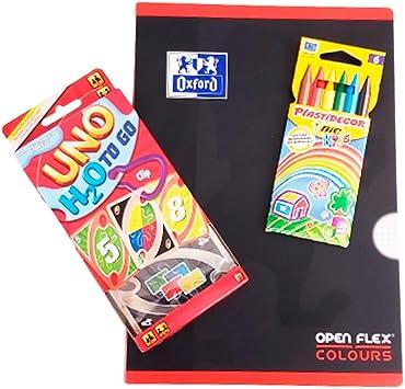 FM Packs Pack UNO H2O To Go & Oxford Open Flex & BIC Kids ...