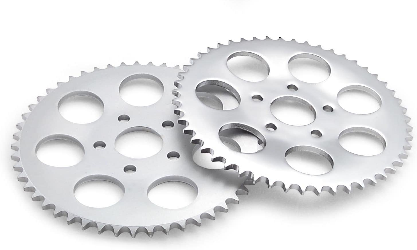 Twin Power 48 Tooth Zinc Plated .150 Offset Rear Sprocket for Harley Davidson 1
