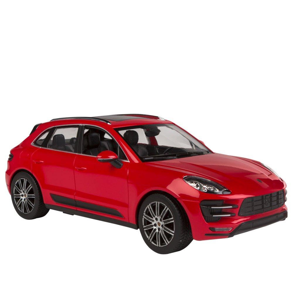 ColorBaby 85203 rojo Coche teledirigido 1:24 Porsche Macan Turbo Rastar