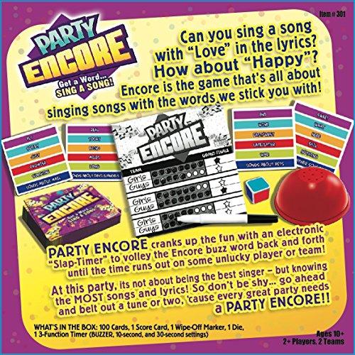 endless games party encore board game party games 24 customer reviews item sku fxho00mcj3i1v features description
