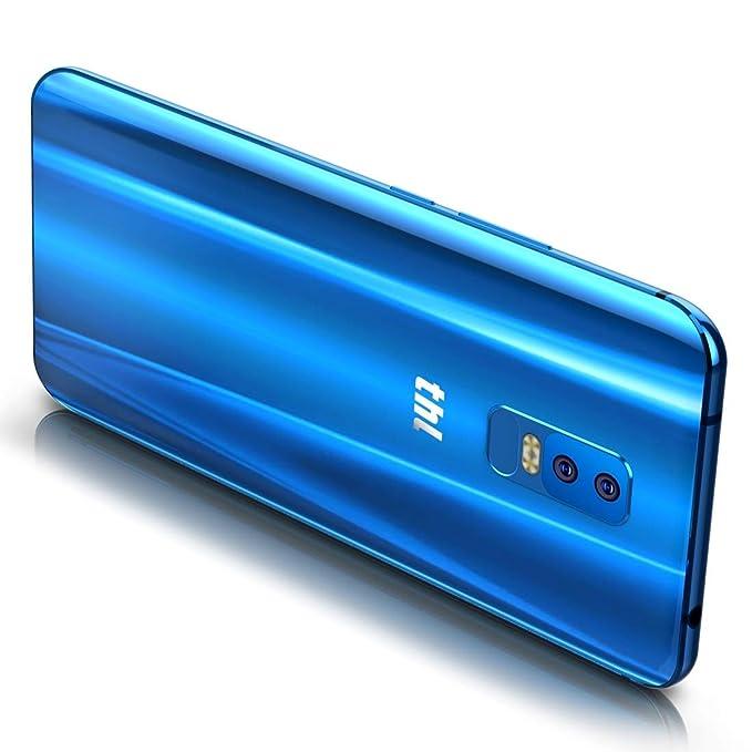 grfg5656 THL Knight 2, teléfono móvil, 4GB + 64GB, cámaras duales traseras, identificación facial y de huellas dactilares, 6.0 pulgadas Android 7.0 MTK6750 ...