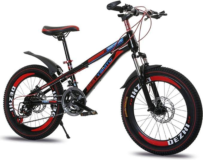 GRXXX Bicicleta de montaña para niños Bicicleta Plegable Delantera ...