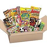 Japanese Valuable Party Snack BOX popular set Dagashi Japan Aerial chocolate Pocky with Akiba King Sticker